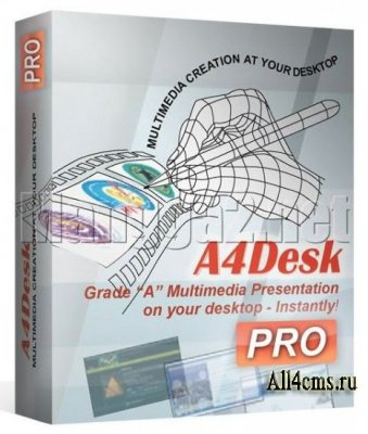 A4DeskPro Flash Web Site Builder 5.11 + Rus