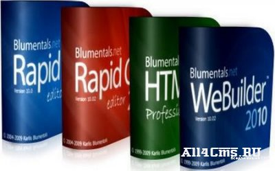 Blumentals Rapid PHP/CSS/HTMLPad/WeBuilder 2010 10.2.0.121