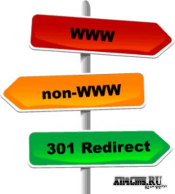 Боремся с дублированием контента (Редирект 301)