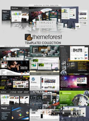 Шаблоны WordPress - ThemeForest Templates Premium Collection