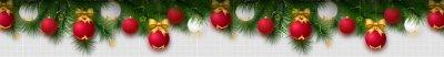Новогодние шарики для сайта.