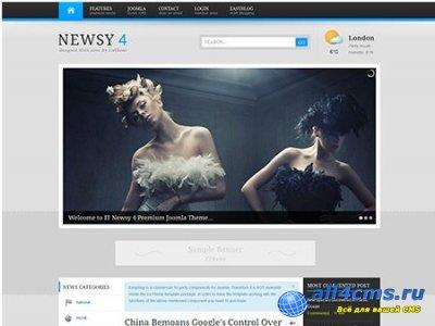 IT Newsy 4 — новостной шаблон для Joomla
