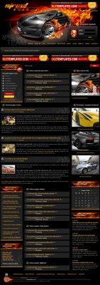 PSD макет Street-Racing