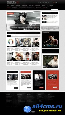 GK Musicity - музыкальный портал для Joomla