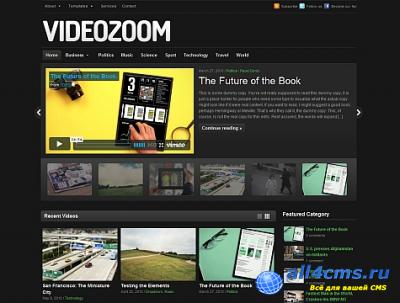 Videozoom - тема WP