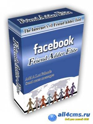 Facebook FriendAdder v3.0.0 - Раскрутка в социальной сети