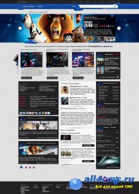 PSD макет для кино сайта
