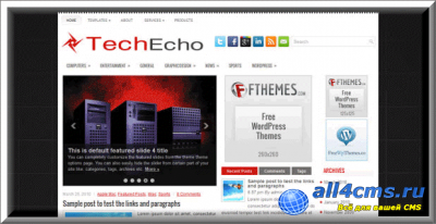 ������������ ������ ��� WP - TechEcho