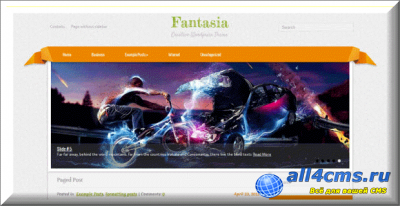 ����� ������ ��� WordPress Fantasia
