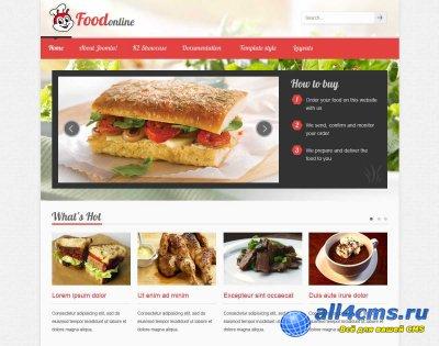 Кулинарный шаблон VT Food для Joomla 3.0