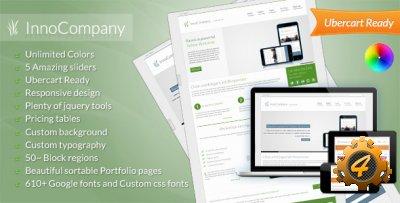 InnoCompany — универсальная бизнес тема для Drupal
