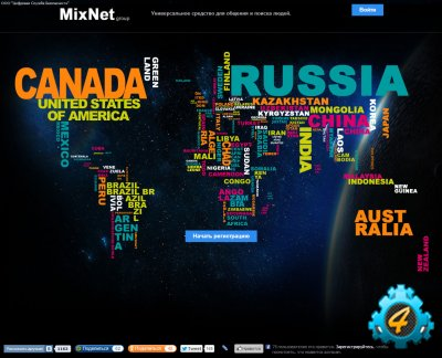Дамп соц. сети MixNet