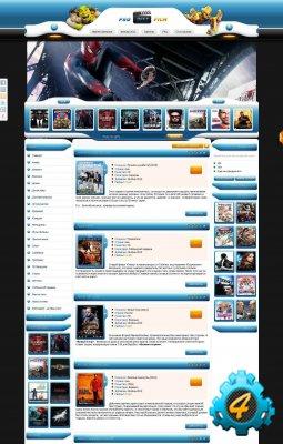 Шаблон Probest-film для DLE 10.0
