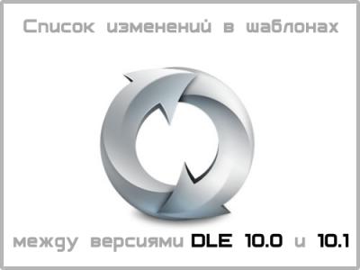 Список изменений в шаблонах между версиями 10.0 и 10.1