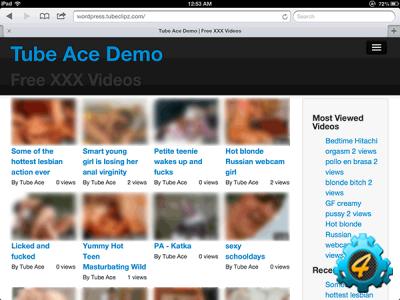 Взрослый видео-сайт на Wordpress за пол часа