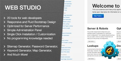 Web Studio 1.0 - скрипт от CodeCanyon