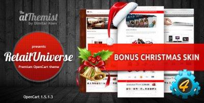 ������ RetailUniverse ��� OpenCart