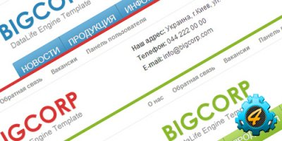 ������������� ������ ������ BigCorp ��� DLE 9.8-10.0
