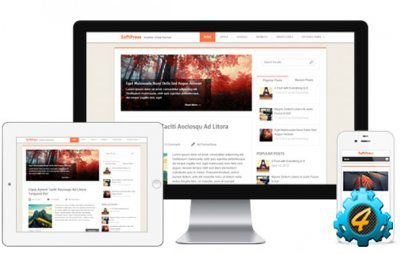 SOFTPRESS шаблон для Wordpress