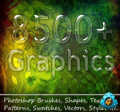 8500+ исходников для Фотошопа