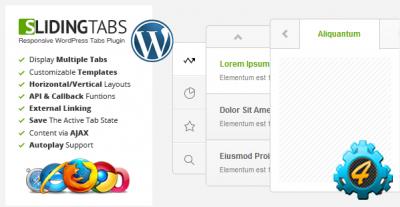 Плагин Sliding Tabs для WordPress