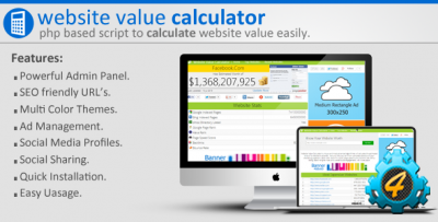 Website Value Calculator 1.9