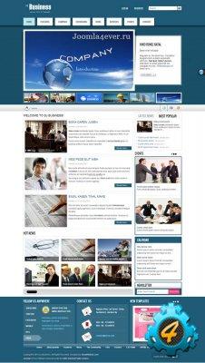 SJ Business - шаблон joomla