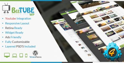 Шаблон BeeTube для WordPress