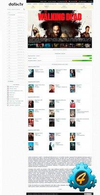 Модификация DLE 9.8 под сайт с сериалами (новая версия)