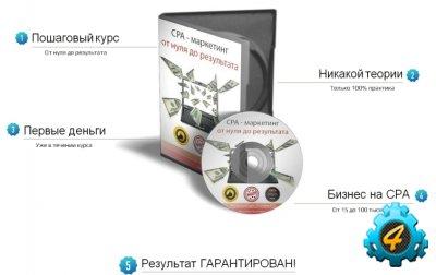 CPA - маркетинг от нуля до результата