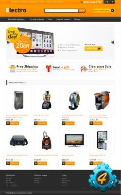 Шаблон интернет-магазина электроники для opencart