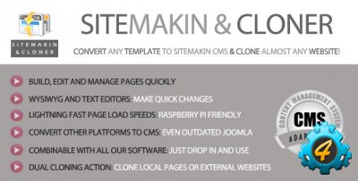 Sitemakin and Cloner