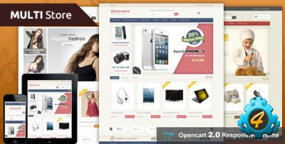 ������� ������ Multi Store ��� OpenCart