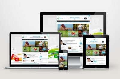 Медбрат - автонаполняемый сайт о здоровье