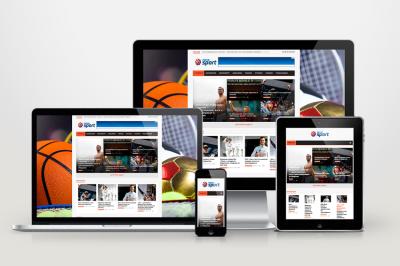 Nova Sport - автонаполняемый сайт о спорте