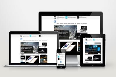 Автонаполняемый сайт Tetra Tech