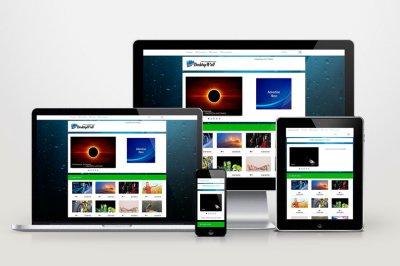 Автонаполняемый сайт - Desktop Wall