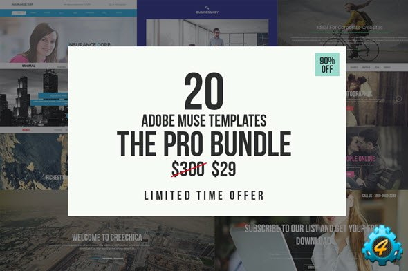 The Pro Adobe Muse Bundle