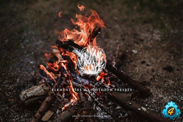 Element Fire Lightroom Presets