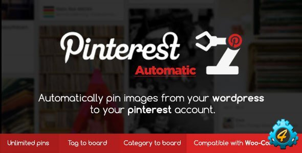Pinterest Automatic Pin 4.7.0