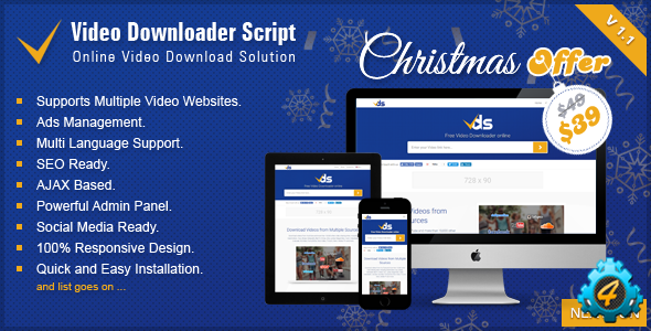 Video Downloader Script v1.3