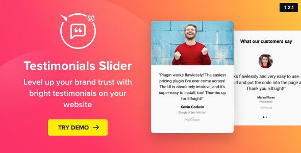 Testimonials Slider v1.2.0