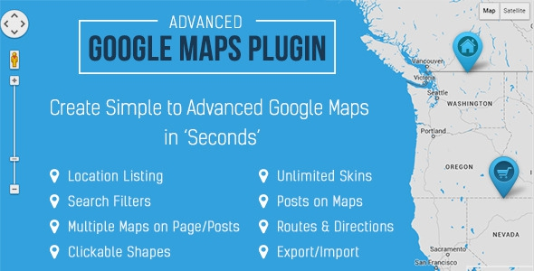 Advanced Google Maps v5.1.1