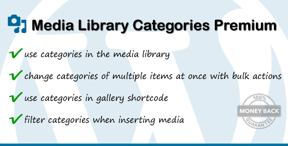 Media Library Categories Premium v2.4.2