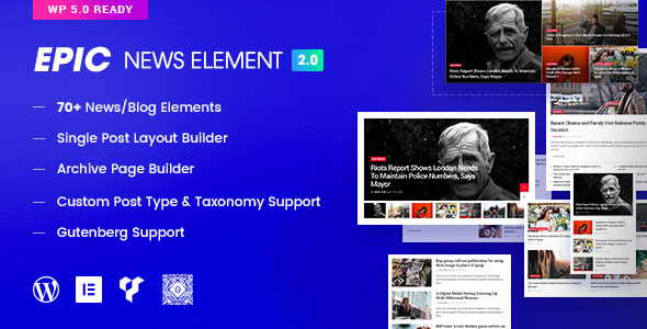 Epic News Elements v2.2.5 NULLED