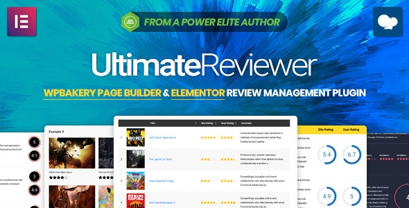 Ultimate Reviewer v2.1 - аддон обзоров для WPBakery Page Builder